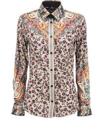 etro paisley floral print shirt