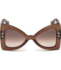 50mm oversized butterfly sunglasses