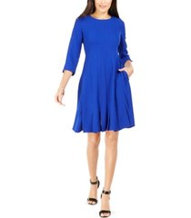 jessica howard petite pleated a-line dress