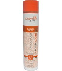 soupleliss beauty hair care condicionador para cabelos secos 300ml - tricae