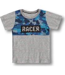 camiseta marisol - 10316345i cinza - cinza - menino - dafiti