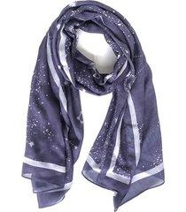pañuelo galaxia azul i-d