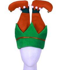 creative christmas decoration elf inverted hat