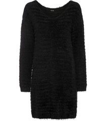 maglione soffice lungo (nero) - bodyflirt