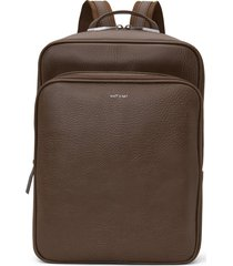 matt & nat sydney backpack, chestnut