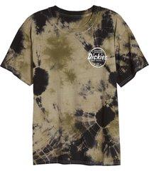 women's dickies tie dye boyfriend t-shirt