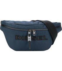 diesel pochete com fivela ajustável - azul