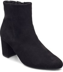 boot shoes boots ankle boots ankle boot - heel svart gabor