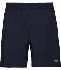 head tennisbroek men shorts club dark blue-m