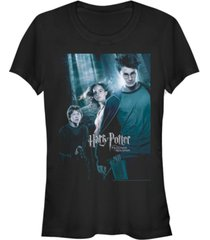 fifth sun harry potter prisoner of azkaban forest poster women's short sleeve t-shirt