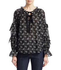 romy wildflower blouse