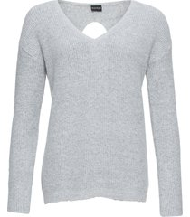 maglione con cut-out (grigio) - bodyflirt