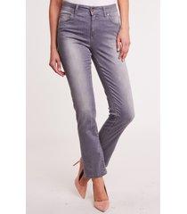 szare spodnie jeansowe daisy