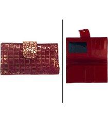 billetera roja bohemia