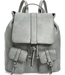 sole society creda faux leather backpack -