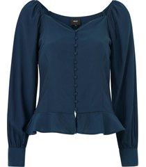 blus objgamil shannon l/s shirt