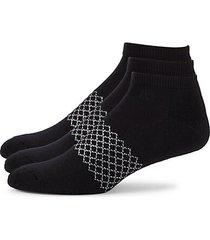 3-pack athletic ankle socks