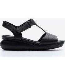 sandalia casual mujer camper sdz2 negro