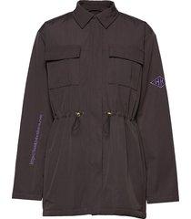 desk jacket zomerjas dunne jas zwart han kjøbenhavn