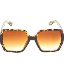 gafas lente degrade color café, talla uni
