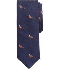 corbata pheasant azul brooks brothers