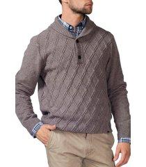 sweater casual beige arrow