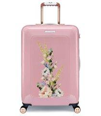 ted baker london medium elegant 27-inch hard shell spinner suitcase -
