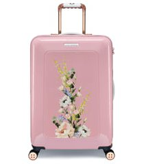 ted baker london medium elegant 27-inch hard shell spinner suitcase -