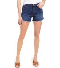 7 for all mankind high waist cutoff denim shorts, size 25 in fletcher drive at nordstrom