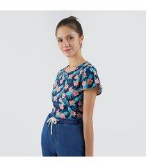 camiseta para mujer flores
