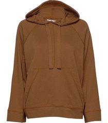 louisiana micro terry hoodie trui oranje arnie says