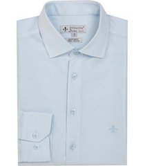 camisa dudalina manga longa tricoline lisa masculina (generico, 48)