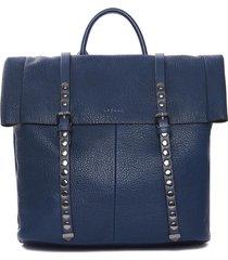 mochila azul lazaro janis