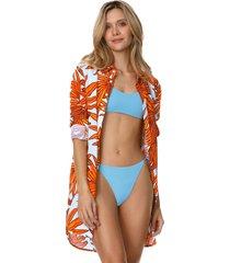 kimono azul-naranja maaji swimwear zambeze river mandy