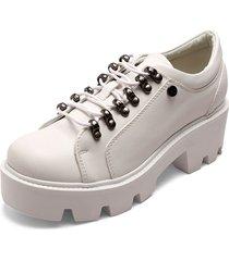 zapatos de plataforma oxford anuwa brisa