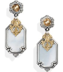 women's konstantino hestia shield drop earrings