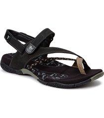 siena raspberry shoes summer shoes flat sandals svart merrell