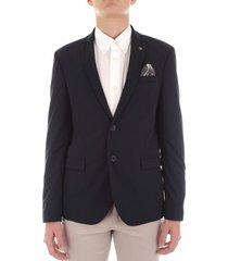 blazer bicolore f1789l-giunco