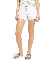 women's blanknyc high waist cutoff shorts