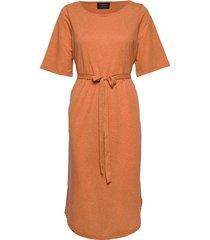 slfivy 2/4 beach dress b beach wear orange selected femme