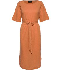 slfivy 2/4 beach dress b beach wear orange selected femme