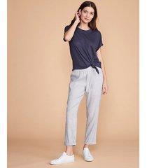 loft lou & grey softstretch linen pants