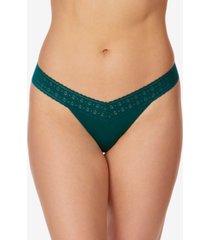 hanky panky women's one size dream low rise thong underwear