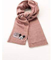 sciarpa mickey mouse (rosa) - bonprix