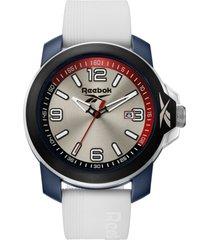 reloj  triple 3 azul marino reebok