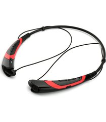 audífonos bluetooth manos, nuevos auriculares inalámbricos audifonos bluetooth manos libres  deportes auriculares estéreo para iphone samsung lg xiaomi auriculares teléfonos móviles de moda (rojo)