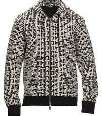 balmain monogram sweatshirt