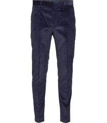 slim tapered italian corduroy suit pant kostuumbroek formele broek blauw banana republic