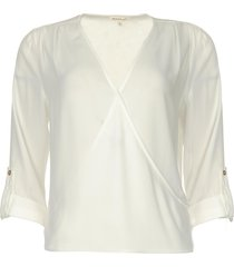 overslag blouse guase  naturel