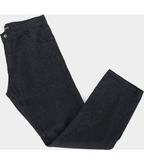 calça jeans preston plus size masculina